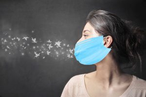 Your mask lets you smell your bad breath
